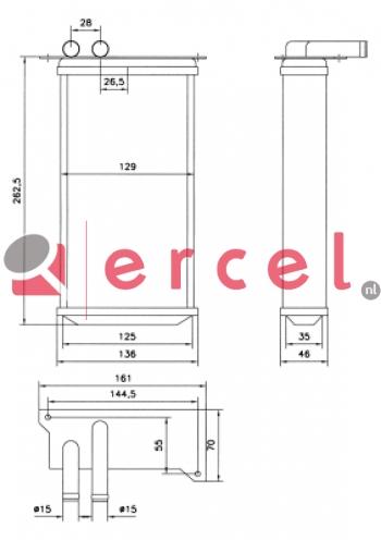 Kachelradiateur SEH 210