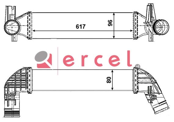 Interkoeler SEI 418