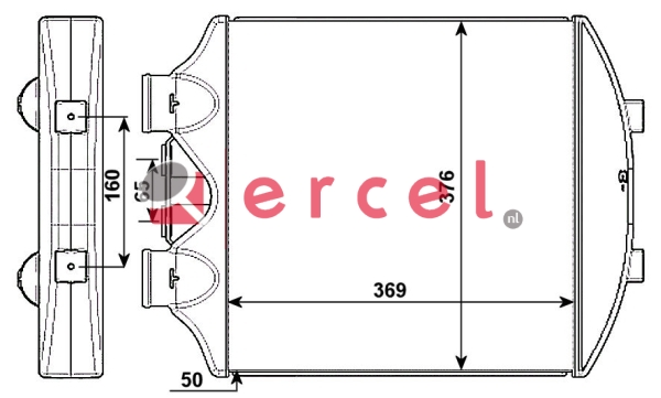 Interkoeler SEI 416