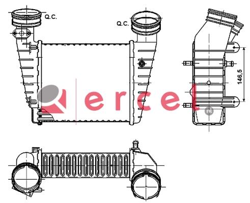 Interkoeler VWI 438