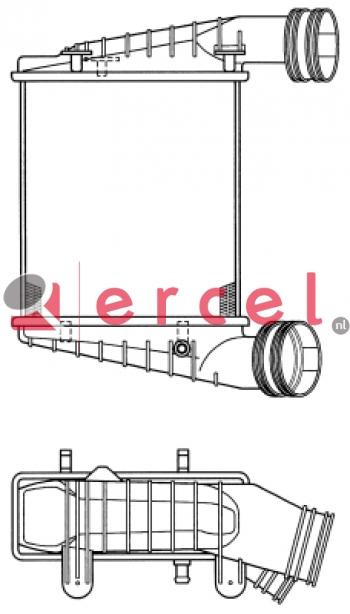 Interkoeler VWI 430