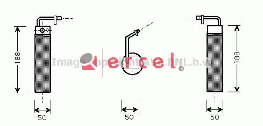 Airco droger/filter NID 022