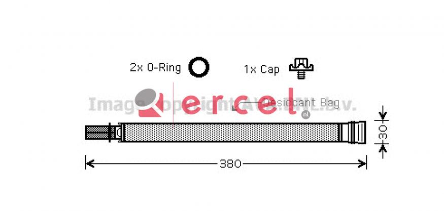 Airco droger/filter BMD 026
