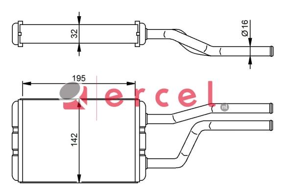 Kachelradiateur TOH 212
