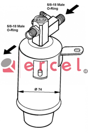 Airco droger/filter BMD 001