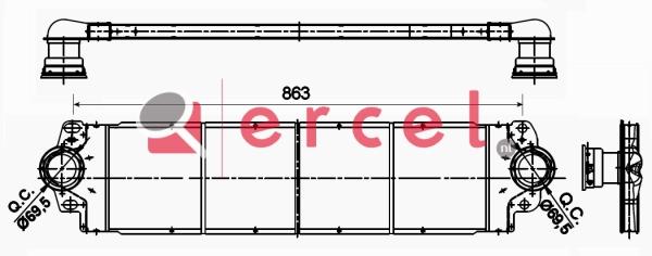 Interkoeler VWI 460
