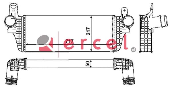 Interkoeler VWI 470