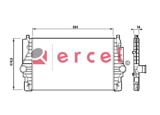 Interkoeler VWI 436