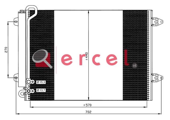 Airco condensor VWC 505