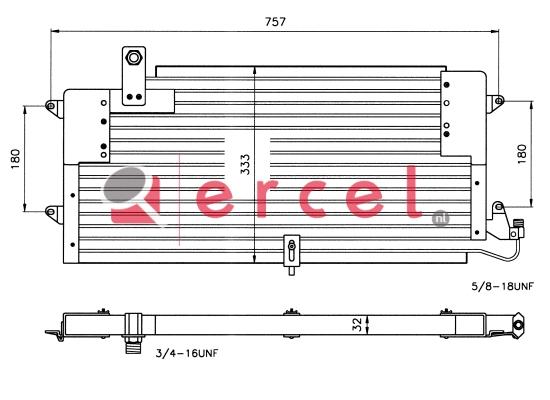 Airco condensor VWC 540