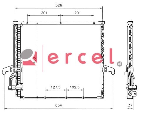 Airco condensor BMC 516