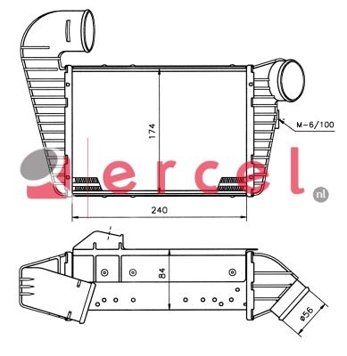 Interkoeler VWI 416