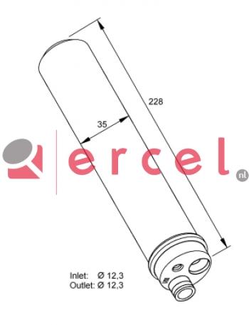 Airco droger/filter VWD 021