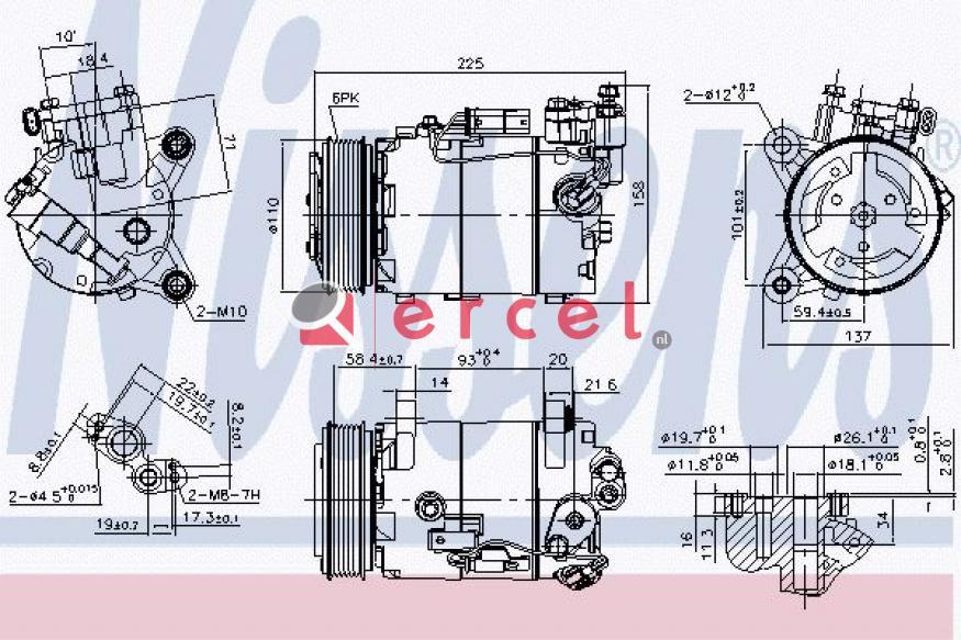Airco compressor BMK 090