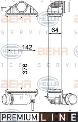 Interkoeler REI 458