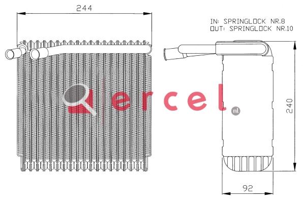 Airco verdamper VOV 003