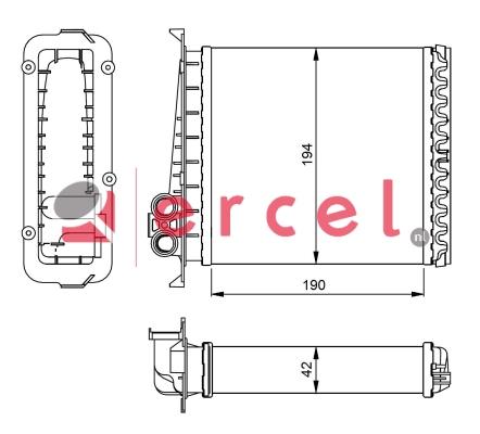 Kachelradiateur VOH 230
