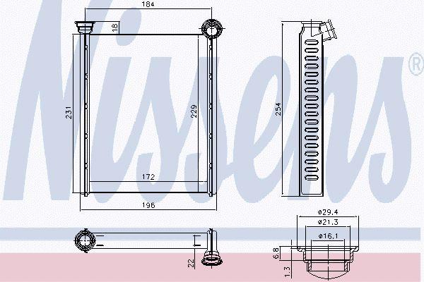 Kachelradiateur CIH 259