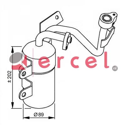Airco droger/filter VOD 021