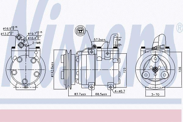Airco compressor MAK 081