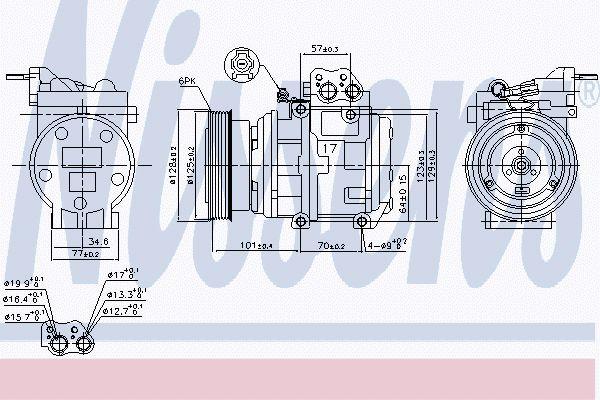 Airco compressor KAK 021