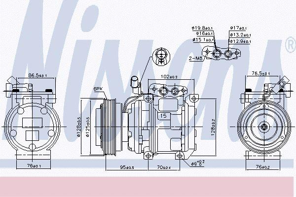 Airco compressor KAK 044