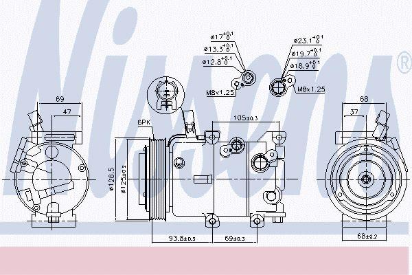 Airco compressor HYK 046