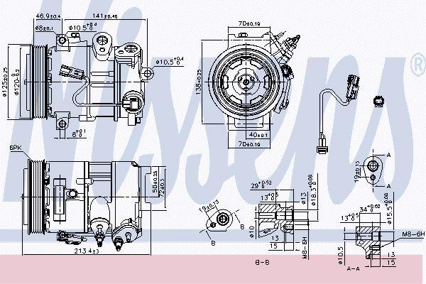 Airco compressor JPK 050