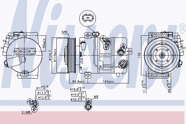 Airco compressor KAK 015
