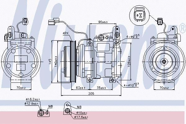 Airco compressor KAK 064