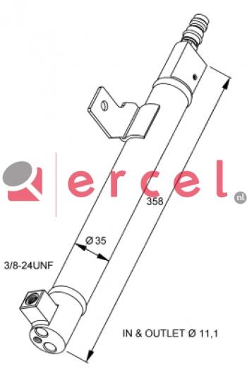 Airco droger/filter VOD 023