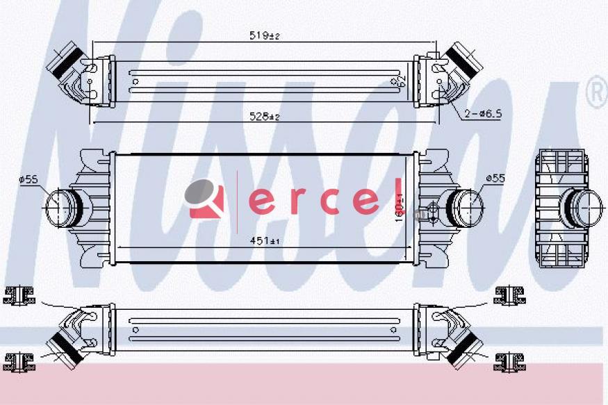 Interkoeler FOI 462