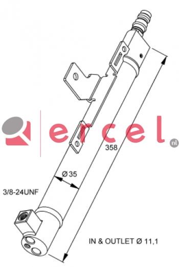 Airco droger/filter VOD 025