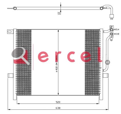 Airco condensor BMC 556