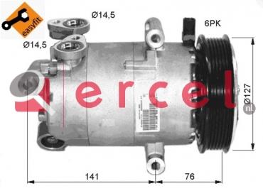 Airco compressor CIK 031 OEM