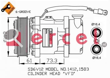 Airco compressor CIK 005 OEM