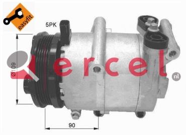 Airco compressor FOK 044 OEM
