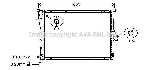 Radiateur BMR 099