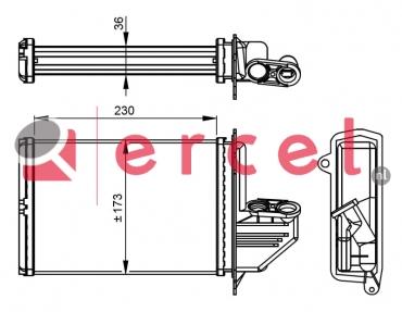 Kachelradiateur BMH 224