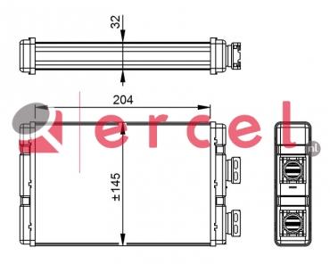 Kachelradiateur BMH 240