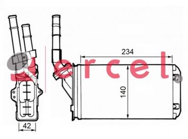 Kachelradiateur CIH 244