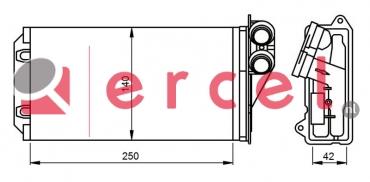 Kachelradiateur CIH 246