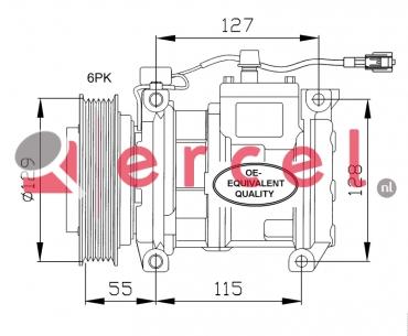 Airco compressor CRK 010