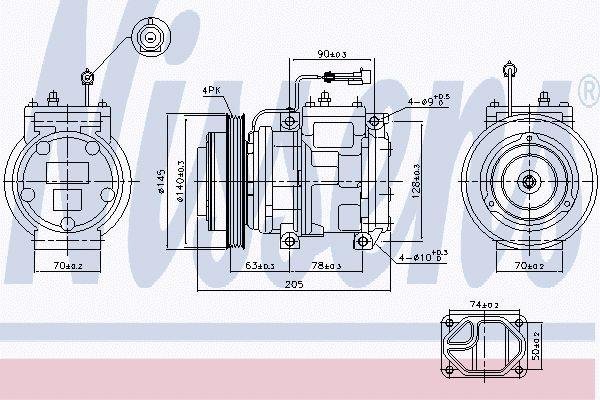 Airco compressor TOK 031