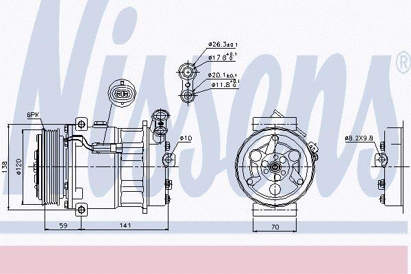 Airco compressor OPK 076