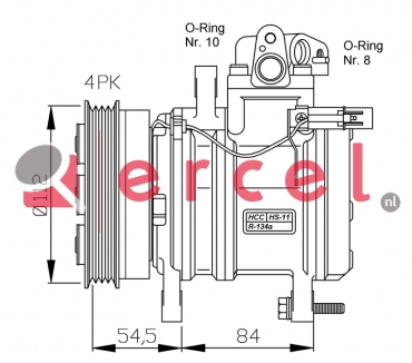 Airco compressor KAK 016