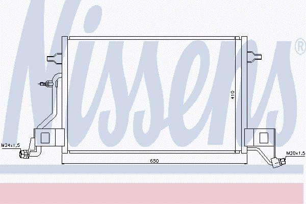 Airco condensor AUC 572