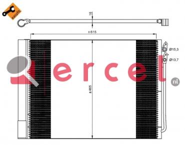 Airco condensor BMC 507