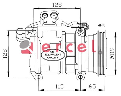 Airco compressor BMK 007