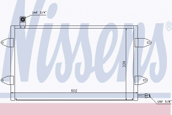 Airco condensor VWC 538